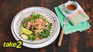 Thai Salad With Calamari And Apple