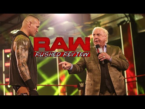 RANDY ORTON GOAT? – RUSHED RAW REVIEW: JUNE 22ND 2020 *SPOILERS*