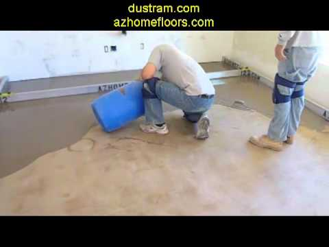 Extreme Concrete Leveling In Phoenix (Arcadia District) Prior To Hardwood Flooring Installation