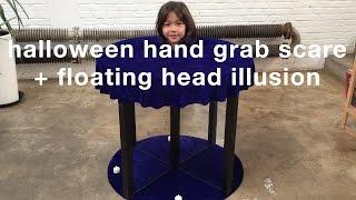 Hand Grab Scare aฑd Floating Head Illusion