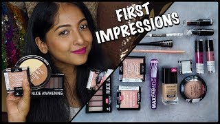FIRST IMPRESSIONS + REVIEW on WET n WILD | Photofocus Foundation & Powder & more! | Stacey Castanha