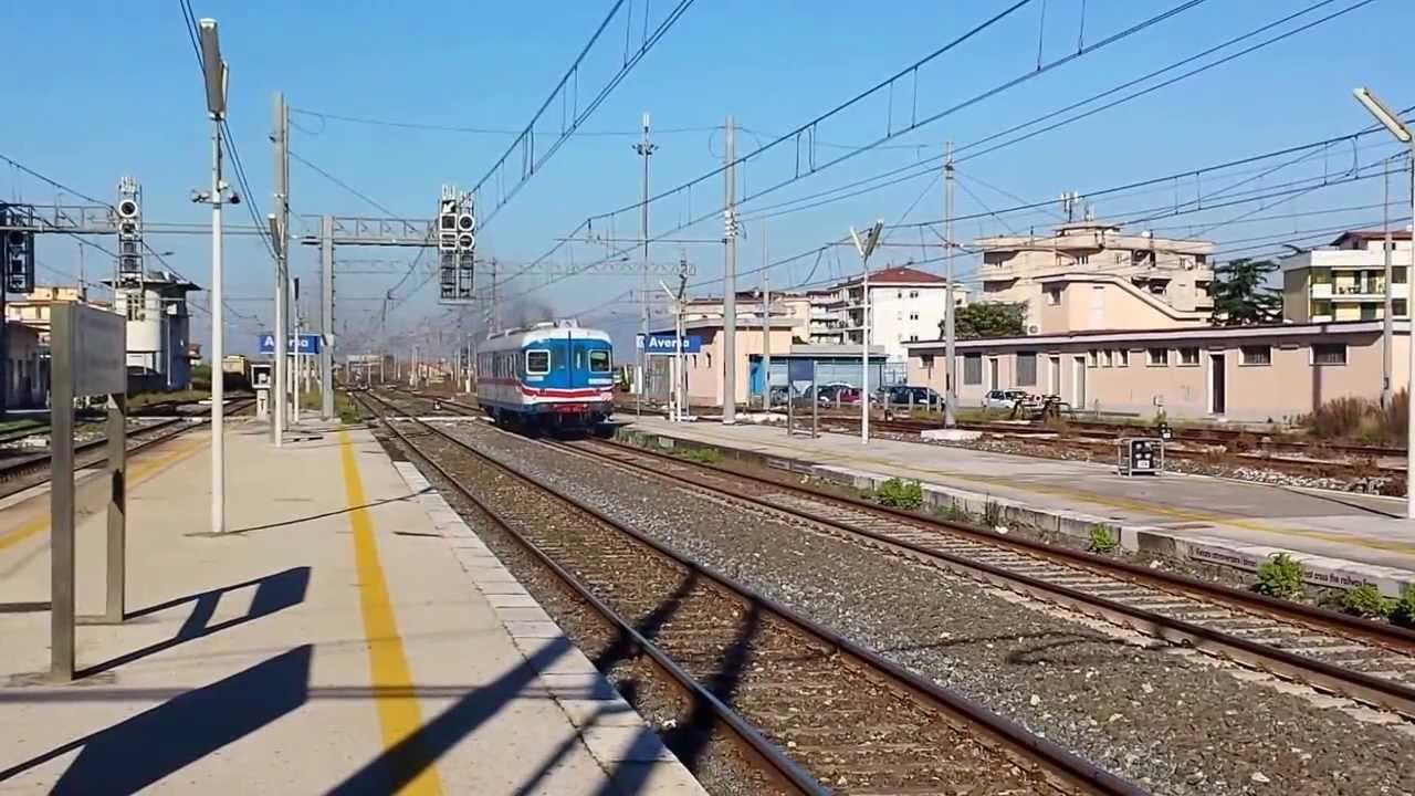 Aln 668 113 Metrocampania Stazione di Aversa