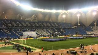 BEST TIFO in Champions League AlHilal Saudi Arabia VS Western Sydney 2017 Video
