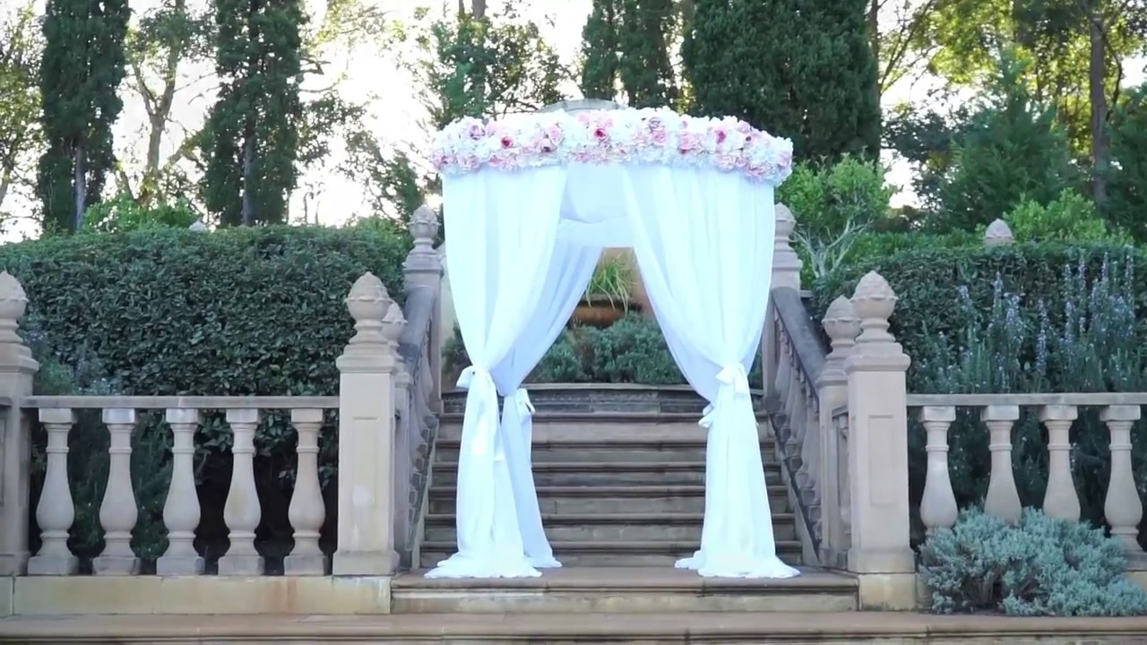 Outdoor wedding decorations canopy hire sydney youtube outdoor wedding decorations canopy hire sydney junglespirit Choice Image