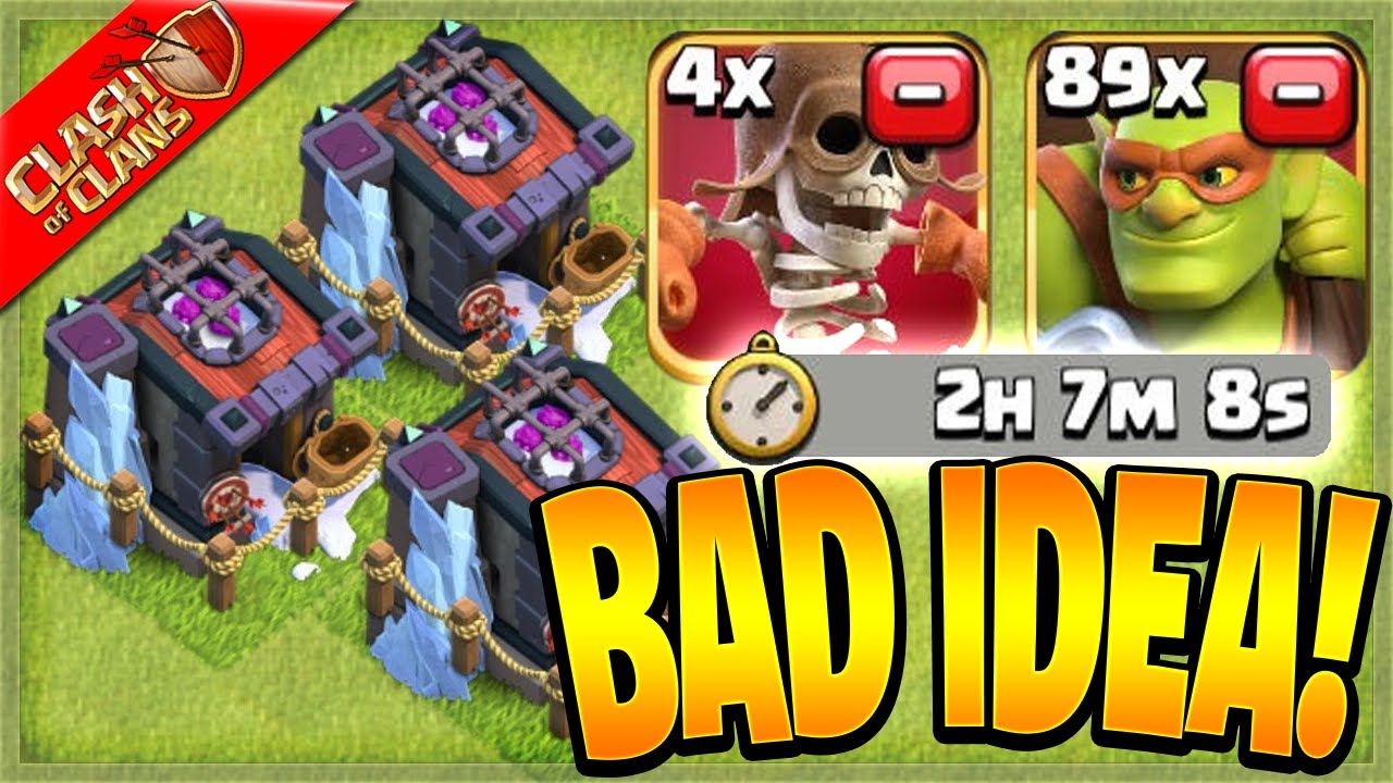 What Happens when You Upgrade 3 Barracks at the SAME TIME? (Clash of Clans)
