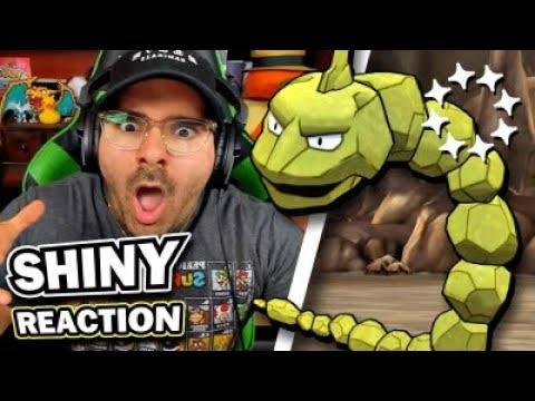 INSANE SHINY ONIX REACTION | Pokemon Let's Go Pikachu & Eevee! thumbnail