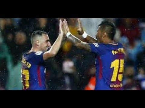 Barcelona vs Murcia 5 v 0  ALL Highlights & Goals   29 November 2017