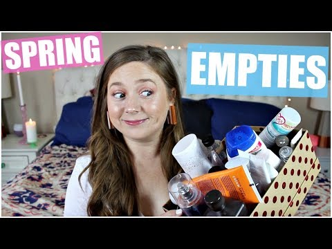 Spring Empties! Home, Healthy & Beauty | 2018