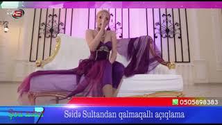 """Səidə Sultan """"evli"""" müğənniləri rüsvay etdi"""