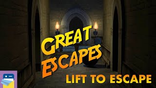 Great Escapes: Lift to Escape Walkthrough & iOS / Android Gameplay (by Glitch Games)