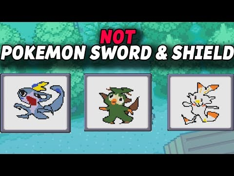 NOT Pokemon Sword And Shield...