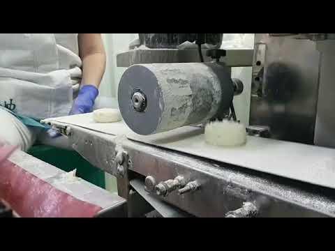 Производство сырников на экструзионно-формовочной машине H-500 с системой охлаждения и прикаткой