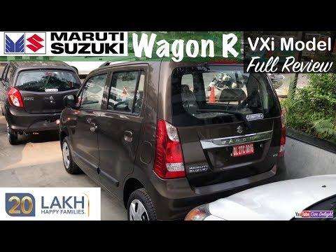 Maruti Wagon R Vxi Model Interior,Exterior Walkaround and Review