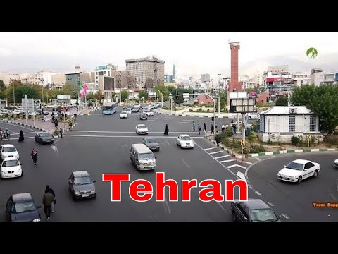 Traveling Iran Tehran City Middle East