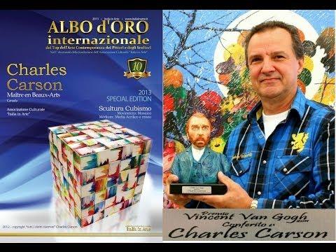 Italia in Arte - Premio Vincent Van Gogh / Maestro Charles CARSON  - Premio Vincent Van Gogh