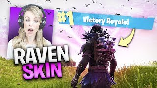 "*NEW* SKIN EVERYONE IS ""RAVEN"" ABOUT IN FORTNITE BATTLE ROYALE"