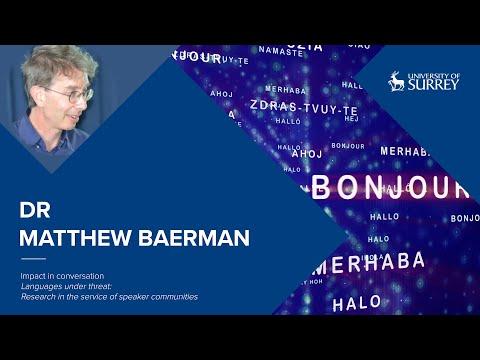 Play video: Impact in Conversation: Dr Matthew Baerman | University of Surrey