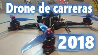 Armado de drone de carreras paso a paso 2018