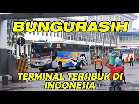 Bungurasih, terminal bus tersibuk di Indonesia