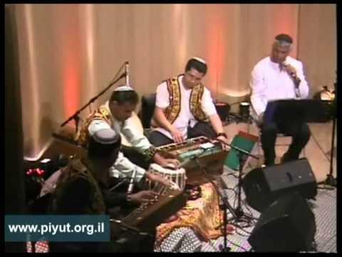 פיוט בלחן הודי, בביצוע צלילי ראג An Ancient Jewish Song With Indian Melody