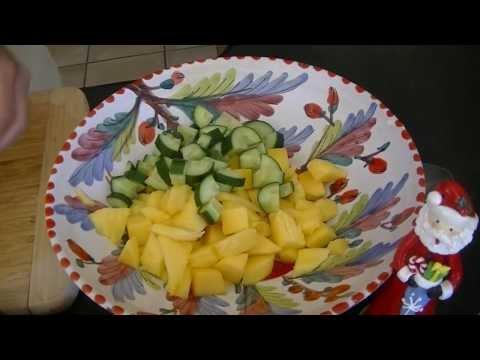 Mango & Avocado Salsa - Aussie Health Girl