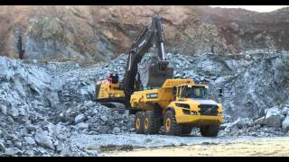 Volvo EC950E crawler excavator: Peak performance
