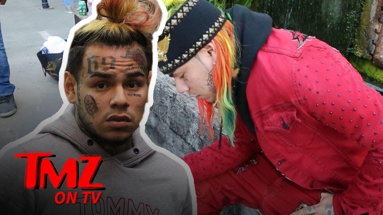 "Download Tekashi69 6ix9ine Orders A ""Hit"" On Video! | TMZ TV"