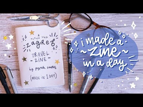 I Made A Zine In A Day?! #Ad #AsusAdventure