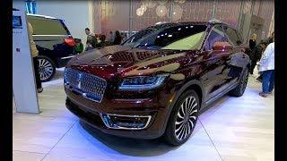 LINCOLN NAUTILUS BLACK LABEL NEW MODEL 2019 LUXURY SUV WALKAROUND