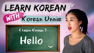 한국어 Learn Korean | Korean Phrases from Kdrama : Hello in Korean