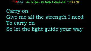 See You Again (without rap ) -  Charlie Puth & Wiz Khalifa - LYRICS Albert999.mp3