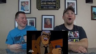 Honest Trailers - Batman: The Animated Series REACTION!!!