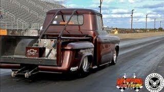 Trent Willson Radical Classic Drag Racing Chevy Truck @ San Antonio Raceway
