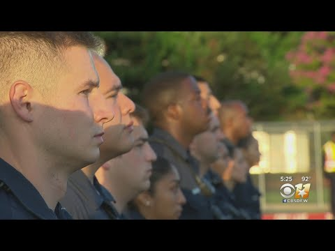 Dallas Police Department Welcomes Largest Academy Class