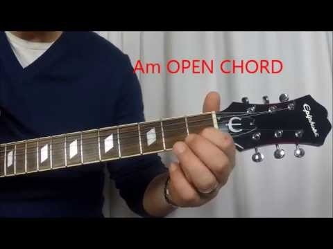How to Play - Am l Bm l Cm l Open Guitar Chords - YouTube