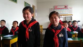 북한어린이 고향의 봄