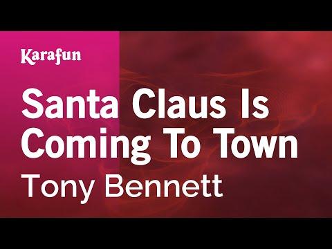 Karaoke Santa Claus Is Coming To Town - Tony Bennett *