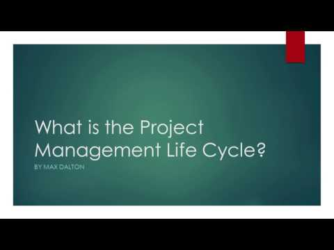 Project Management Life Cycle Overview
