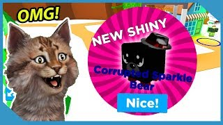 Full Team Of Shiny Corrupted Bear Pets! - Roblox Magnet Simulator