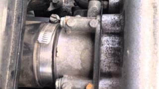 Как снять дроссельную заслонку Subaru