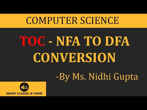 NFA to DFA Conversion(TOC), Gurukpo