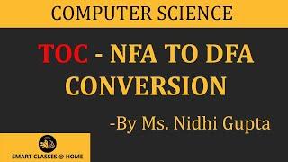 NFA to DFA Conversion(TOC), Gurukpo