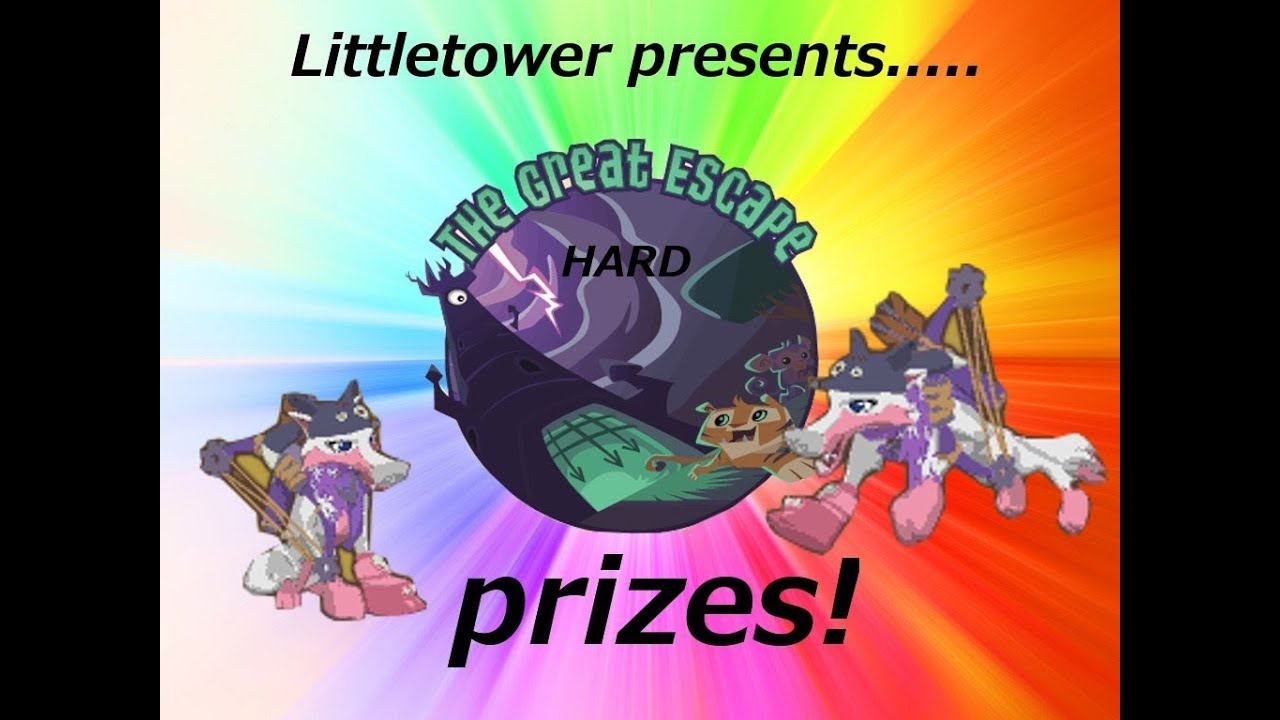 Aj prizes for the great escape hard