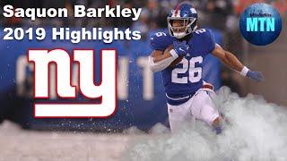 Saquon Barkley || MAGIC || Full 2019 Highlights