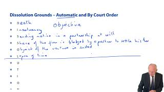 Dissolution Grounds  - ACCA Corporate and Business Law (LW) (ENG)