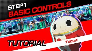 Persona 4 Arena Ultimax: Tutorial #1: Basic Controls
