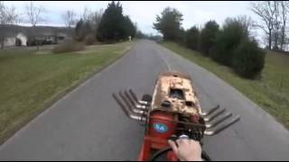 Big block chevy lawnmower road test