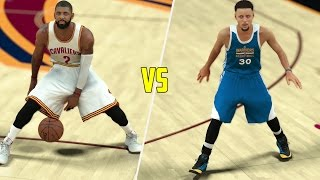 CAN KYRIE IRVING BEAT STEPHEN CURRY IN A 1V1? NBA 2K17 GAMEPLAY!