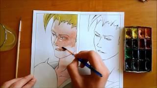 Как рисовать цветную мангу(Вк: https://vk.com/id208514184., 2015-08-28T11:36:51.000Z)