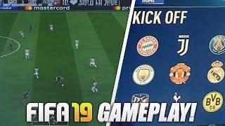 FIFA 19 OFFICIAL GAMEPLAY! (Juventus vs PSG Full Match)